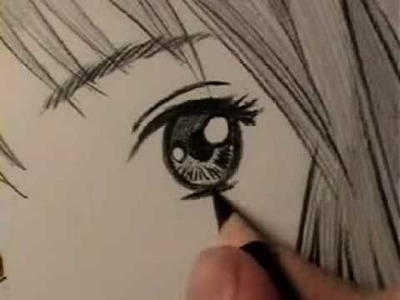 How to Draw a Manga Eye, Line by Line