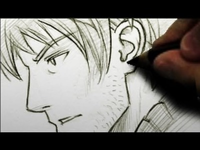 How to Draw an Ear [HTD video #1]