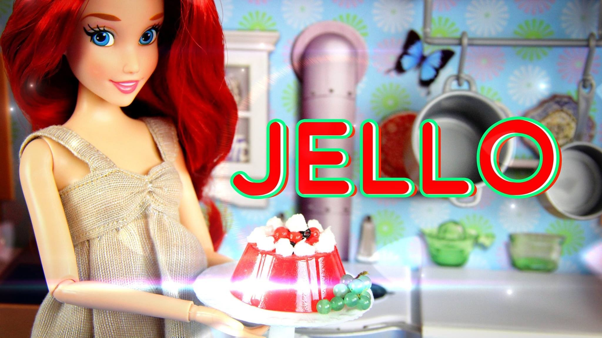 How to Make a Doll Jello Mold - Doll Crafts