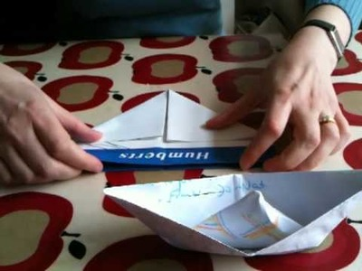 How To.  make a Paper Boat.MOV