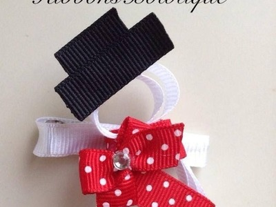 "HOW TO: Make a ""Snowman"" Hair-Clip"