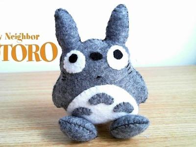 How to Make a Totoro Plushie tutorial