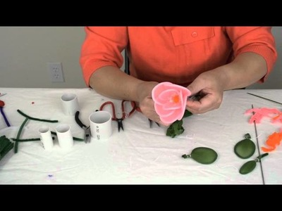 How to Make Chenille Flowers
