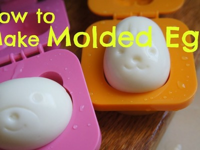 How to Make Cute Molded Eggs