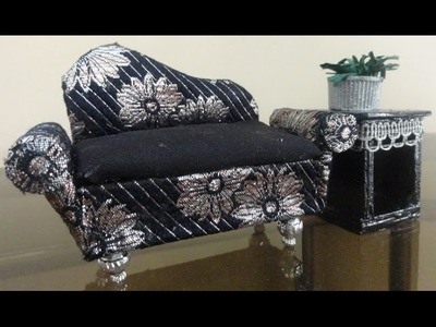 How to make miniature couch