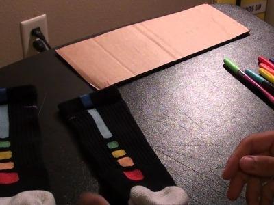 How To Make Rainbow Nike Elite Socks