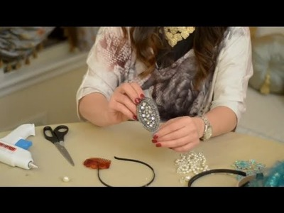 How to Make Ribbon Hair Clips for Children : Decorating for Events