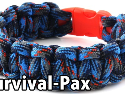 How To: Single-Color Cobra Weave Paracord Bracelet with Buckle