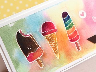 I Love You More Than Ice Cream — Make a Card Monday #259