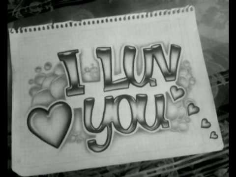 I Luv You Drawing (dibujo)