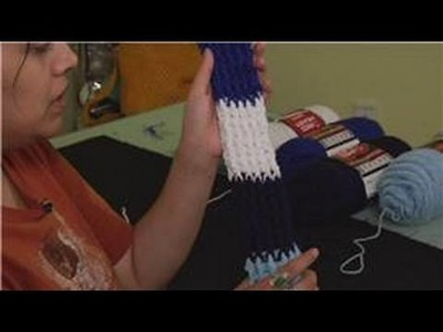 Knitting the Rib Stitch Crochet : How to Knit the Rib Stitch