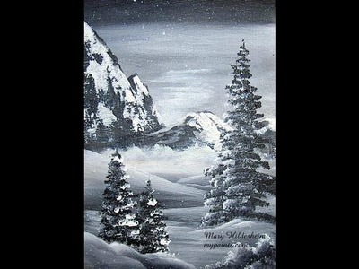 Learn to paint Mountains
