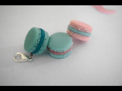 Macaron Charm Tutorial, Miniature Polymer Clay Tutorial