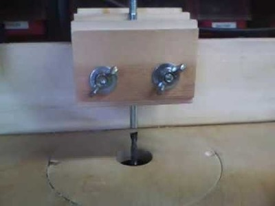 Make a Pin Router Table Copier Jig