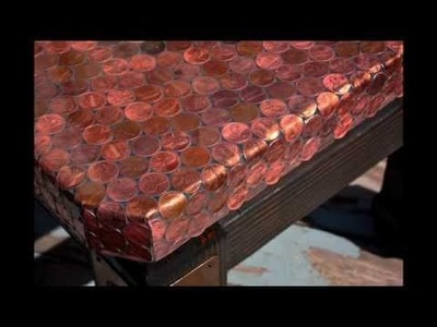 Making a Penny Covered Table