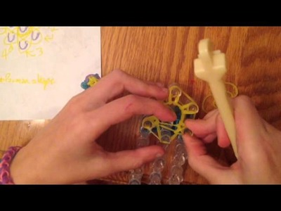 Pac-Man Charm Tutorial for Rainbow Loom