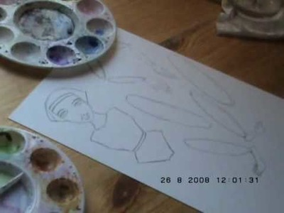 Part 1 - Easy Paper Dolls for kids and adults alike ART