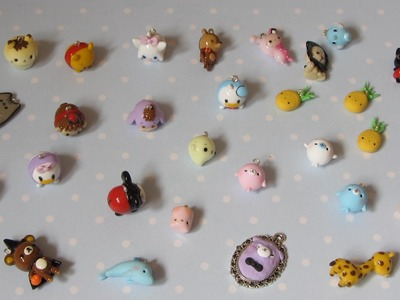 Polymer Clay Charm Update #19 - Tsumtsums, Sentimental Circus and More!
