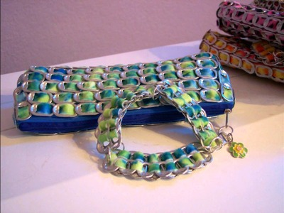 Pop Tab Clutch Purses Handbags in Pretty Colors
