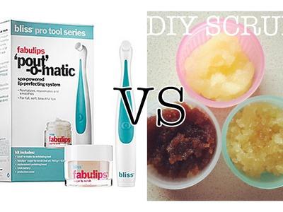 Pout-O-Matic VS DIY Lip Scrub | Make it or Break it!