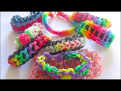 Rainbow loom bracelets   rainbow loom