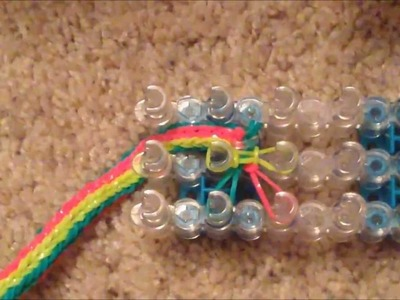 Rainbow Loom Inside Out Fishtail Bracelet