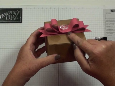 Ribbon Candy Bow with Dawn