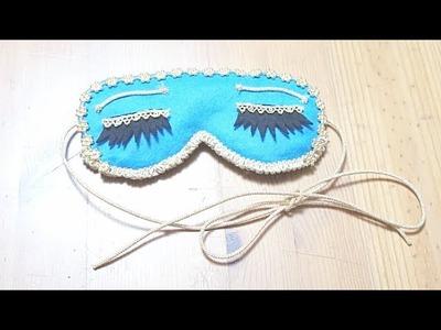 Sewing + DIY Breakfast at Tiffany's inspired Sleep Eye Mask