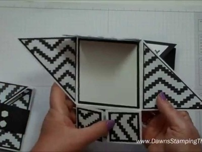 Six Fold card with Dawn