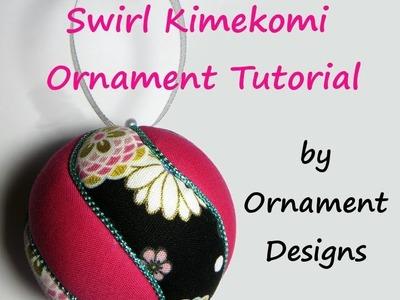 Swirl Kimekomi Ornament Tutorial
