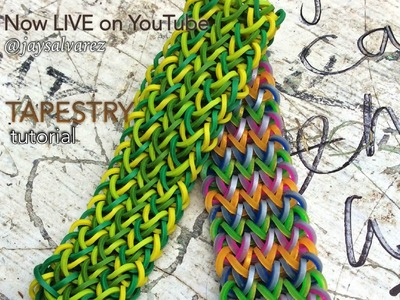 TAPESTRY Hook Only bracelet tutorial 'made easy' :o)