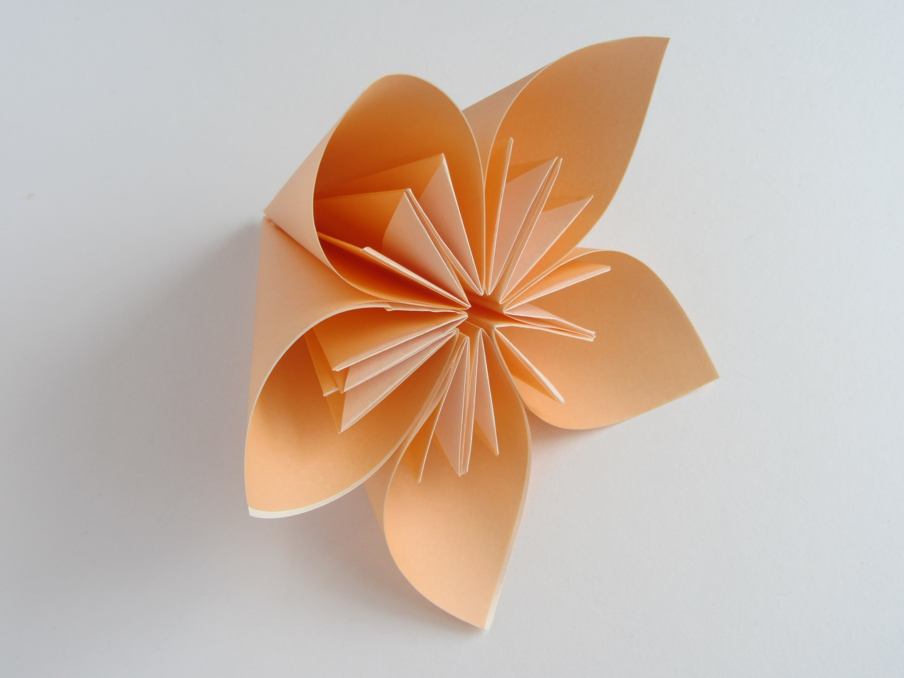 The Art of Paper Folding - How to Make an Origami Flower Kusudama