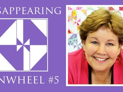 The Disappearing Pinwheel 5 TWIST Quilt: Easy Quilting Tutorial with Jenny Doan of Missouri Star