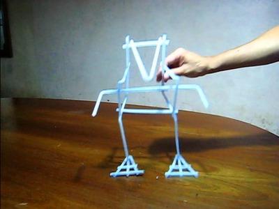 Transformer Toys with Straws - Juguetes con Pajitas de Beber