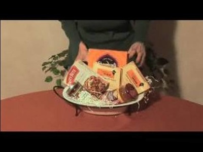 Unique Gift Basket Ideas : Food Gift Baskets