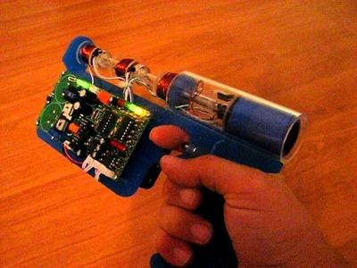3 Stage Coilgun Pistol Using Emag Controller Kit
