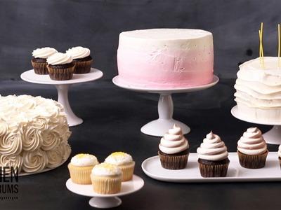 5 Amazingly Simple Cake Decorating Ideas  - Kitchen Conundrums with Thomas Josheph