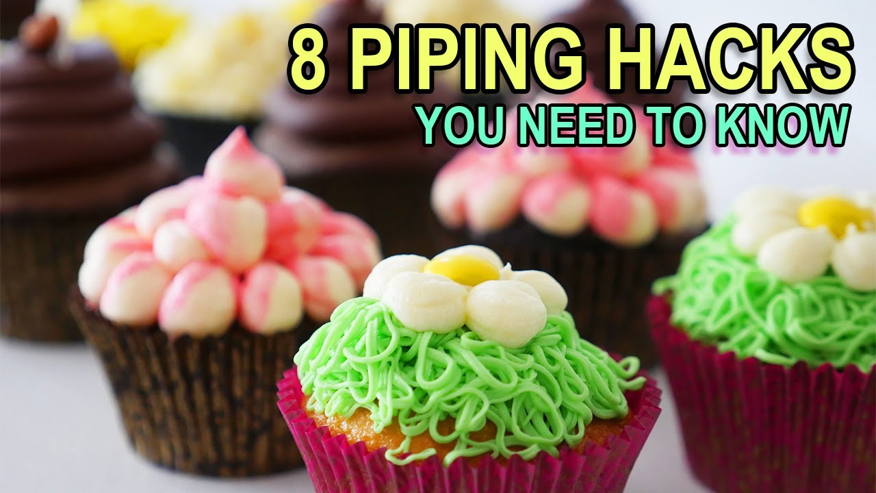 8 PIPING BAG HACKS YOU NEED TO KNOW Ann Reardon life hacks