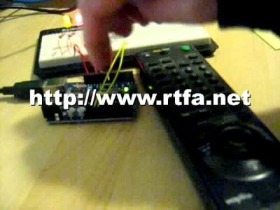 Arduino IR Remote Control with do-it-yourself info