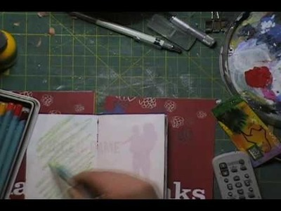 Art Journal Technique: Junk Journal Part 3