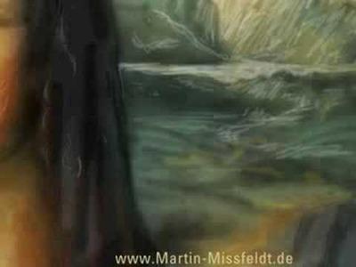 Art speed painting : MONA LISA paint by Martin Missfeldt