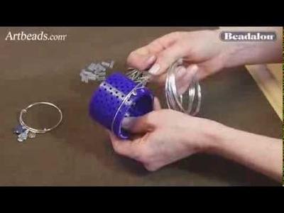 Artbeads Mini Tutorial - Beadalon 3D Bracelet Jig with Katie Hacker