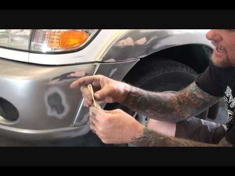 Automobile Collision Repair-How To Repair Your Plastic Bumper Cover. Part 1