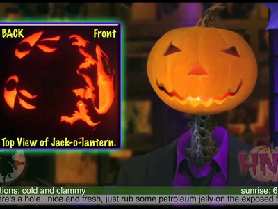Back-O-Lantern: Carving The Back of Your Pumpkin to Create Projections!