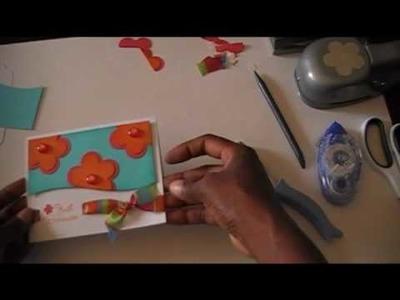 Card Making Tutorial Episode 3: Just Because