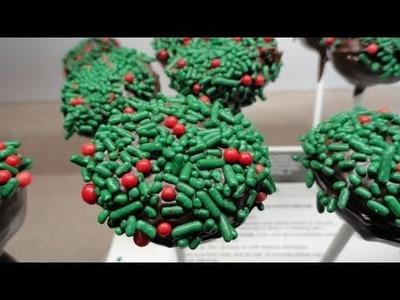 Cookie Pops (a.k.a Chocolate Bonbon Pops)