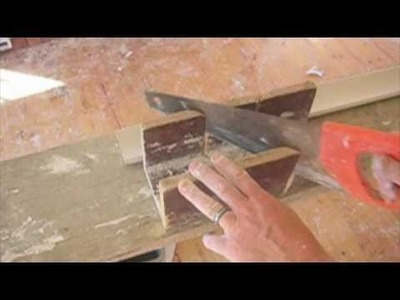 Cornices-Tips On External. Internal Miters Part 1