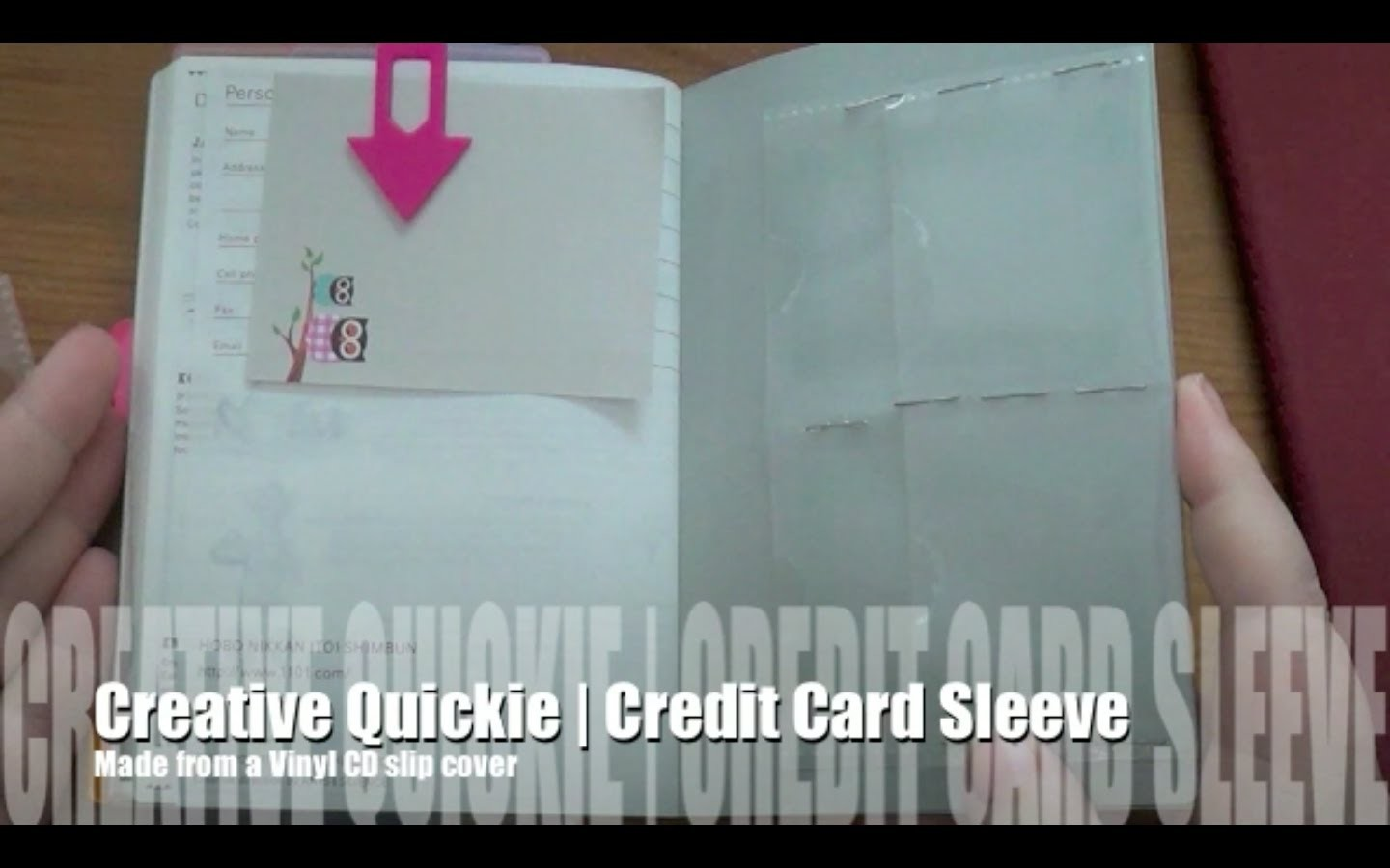 Creative Quickie | Easy DIY Credit Card Holder