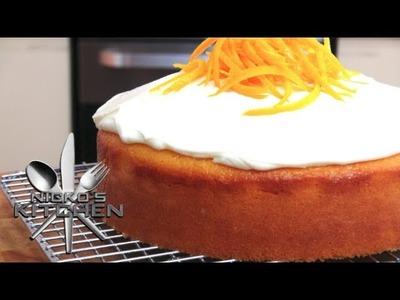 Custard Orange Cake - Video Recipe