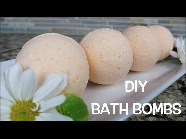 DIY Bath Bomb   Bath & Body Series   MariaAntoinette TV
